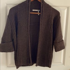 Classiques Entier Ribbed Brown Sweater size S